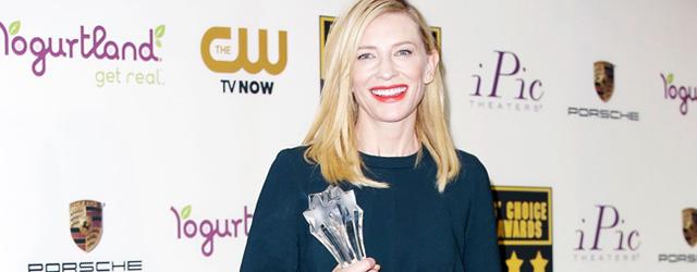 Cate Blanchett wins Best Actress Critics Choice Awards + Pictures