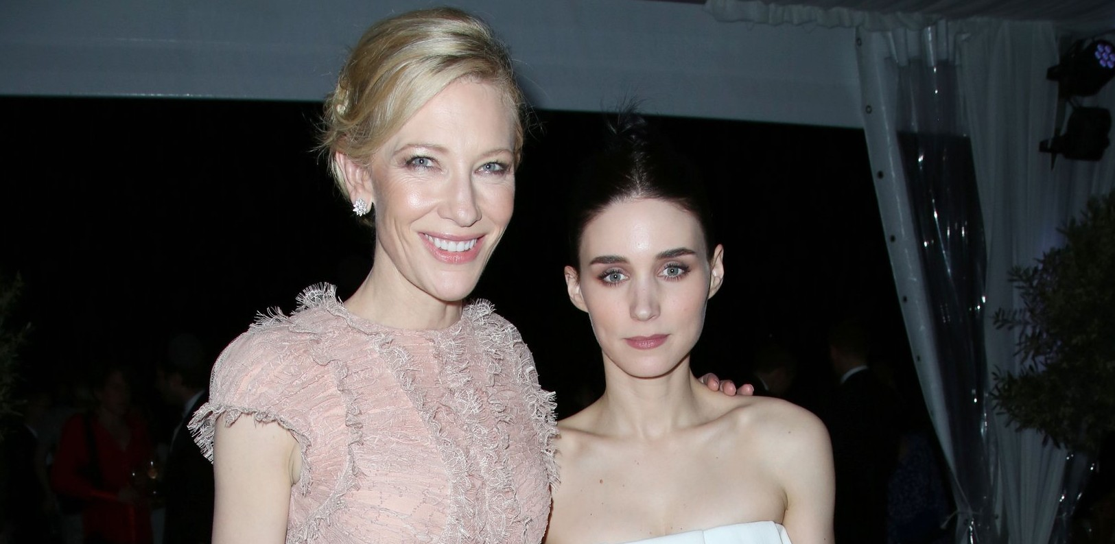 Cate Blanchett and Rooney Mara in Cannes for the Carol After Party