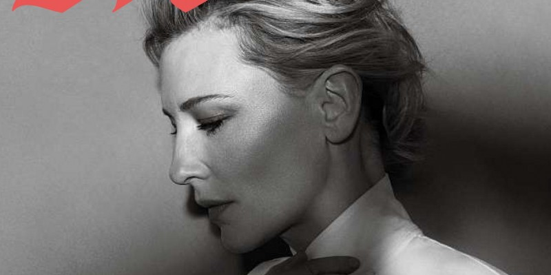 Cate Blanchett featured on M Magazine from Le Monde Journal – Digital Scans