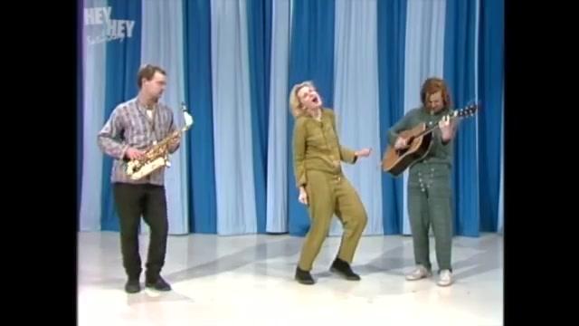 Cate Blanchett at 'Hey Hey It's Saturday' (1986)