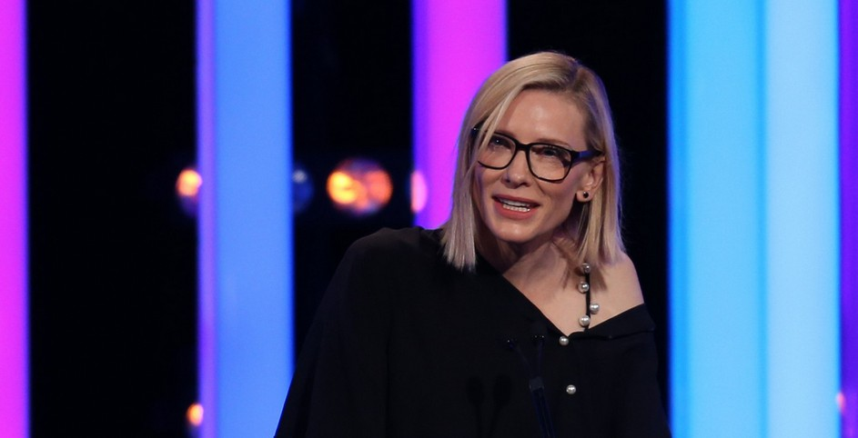 Video – Cate Blanchett at the Women In Film Awards
