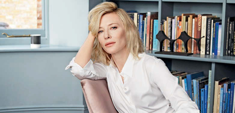 Cate Blanchett promotes Sì Le Parfum with Woman Germany
