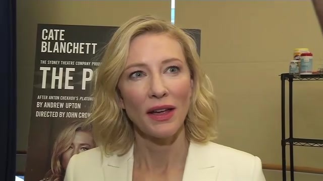 [Video] Cate Blanchett set to Make Broadway Debut Next Month in Adaptation of Chekhov Play 'The Present'