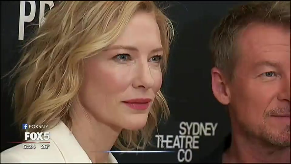 [Video] Oscar-winner Cate Blanchett on Broadway in 'The Present'