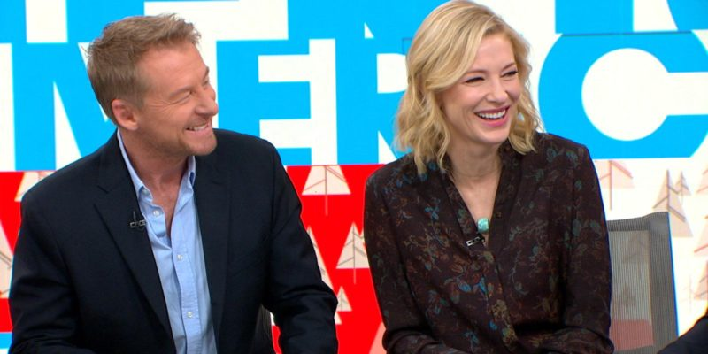 [Video] Cate Blanchett and Richard Roxburgh Talk About The Present on 'GMA'