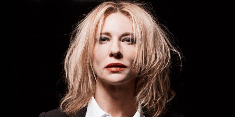 Cate Blanchett first portrait for RED, a Del Kathryn Barton short film