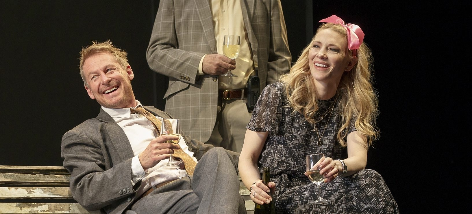[Videos] Two-time Oscar winner, Cate Blanchett, makes Broadway debut in 'The Present'