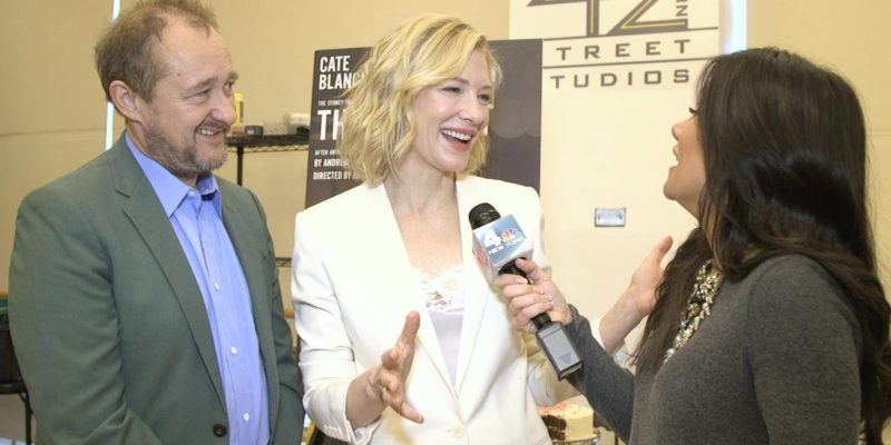 [Video] NEW interview of Cate Blanchett for The Present #Broadway