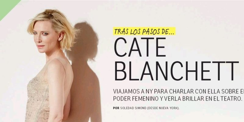 Cate Blanchett interviewed by Ohlalá Magazine + new photo for Sì Rose Signature campaign