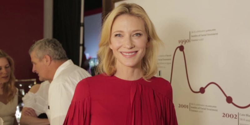 [Video] Cate Blanchett – Singapore Fashion Week (2015) #SKII