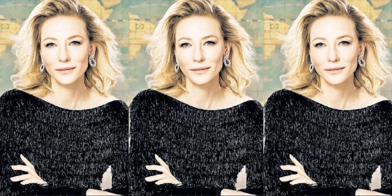 Cate Blanchett will be on the cover of Town & Country 50 Philanthropy issue