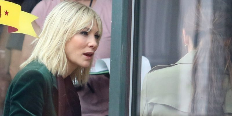 Ocean's 8 Reshoots in New York