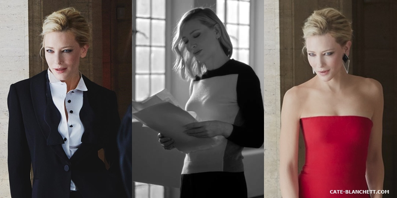 Cate Blanchett for Sì by Giorgio Armani: new footage and photos