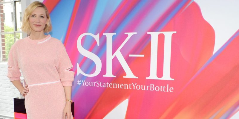 Cate Blanchett – SK II #ChangeDestiny limited edition reveal in NY