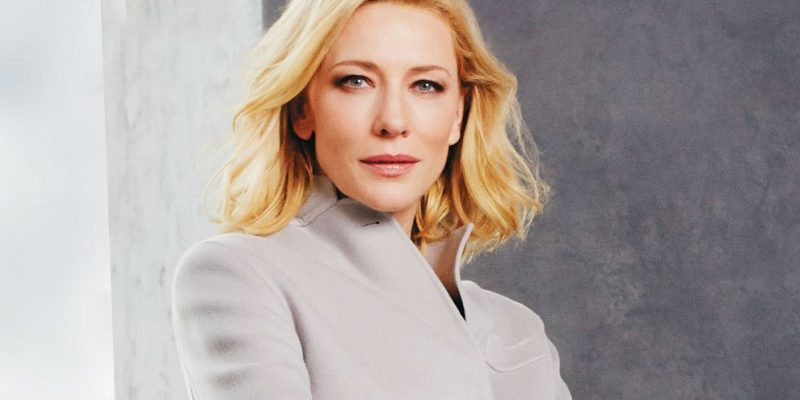 Cate Blanchett on the cover of Luz Magazine (Argentina)