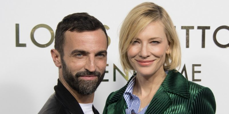 Cate Blanchett attends the opening of the new Louis Vuitton's boutique