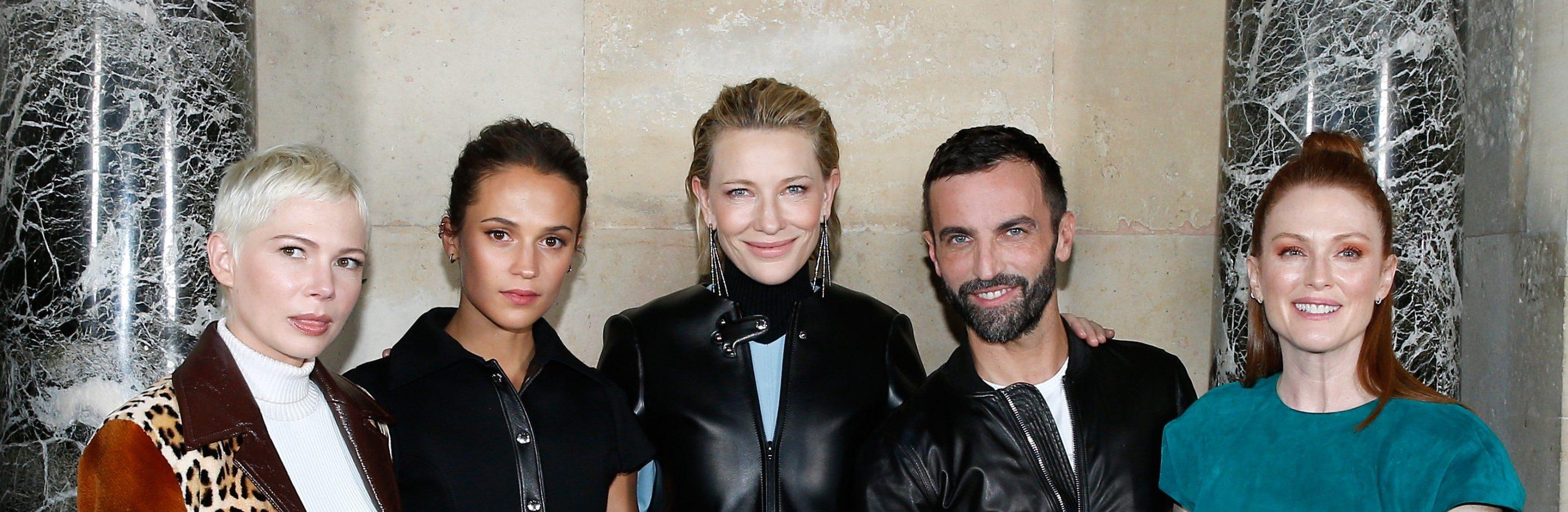 Cate Blanchett at Louis Vuitton Fashion Show Spring Summer 2018 #PFW