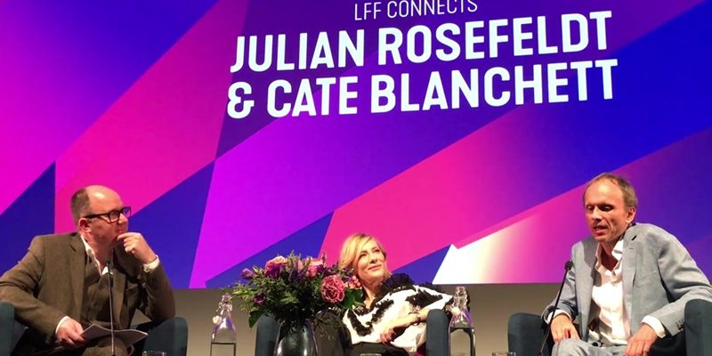 [Videos] LFF Connects: Cate Blanchett & Julian Rosefeldt – 61st BFI London Film Festival
