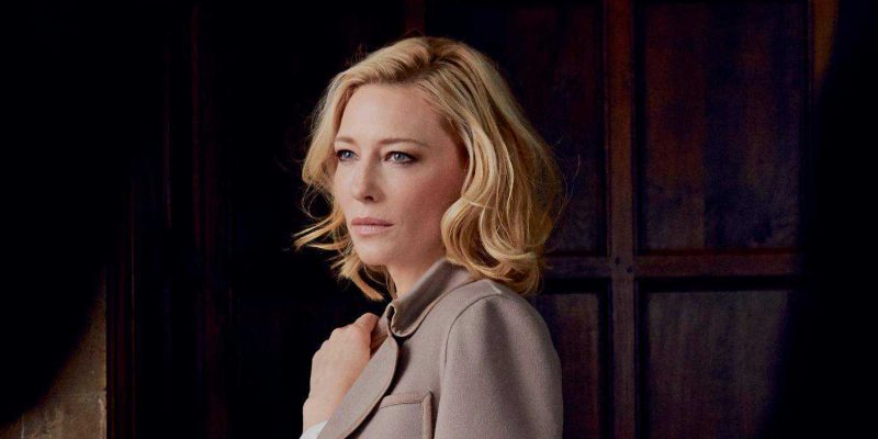 Cate Blanchett for Armani's Sì: New magazine scans and photos