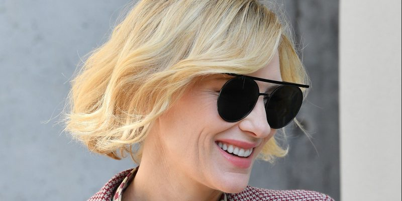 New interview with Cate Blanchett for Giorgio Armani Sì Nacre Sparkling Limited Edition fragrance