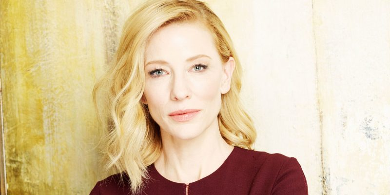 Cate Blanchett supports TIME'S UP Anti-Harassment Action Plan