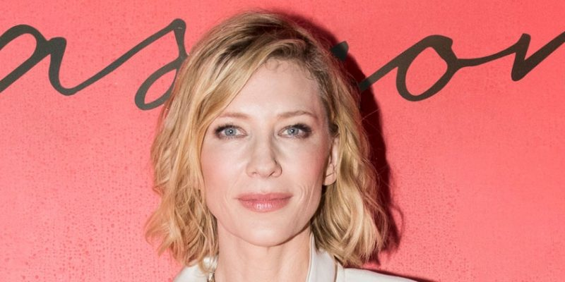 Cate Blanchett Dishes On Fragrance, Social Media And The Power Of Women