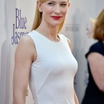 "Cate Blanchett  at the premiere of ""Blue Jasmine"""