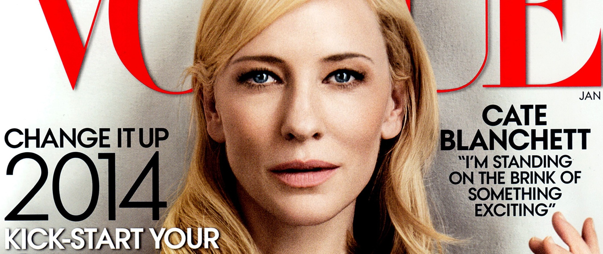 Cate Blanchett covers Vogue US January 2014