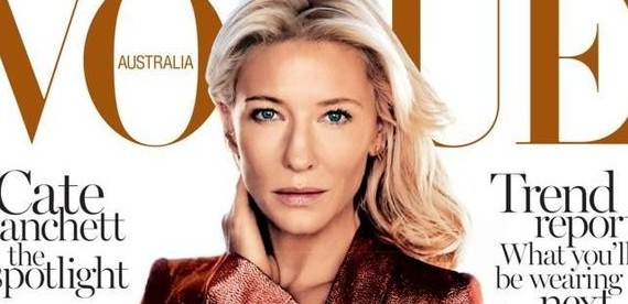 Cate covers Vogue Australia February