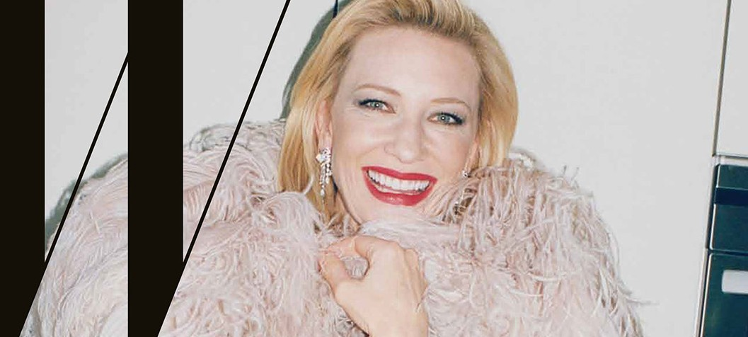 Cate covers W Magazine – Movie Issue