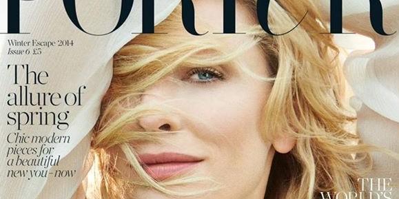 Cate Blanchett covers Porter Magazine