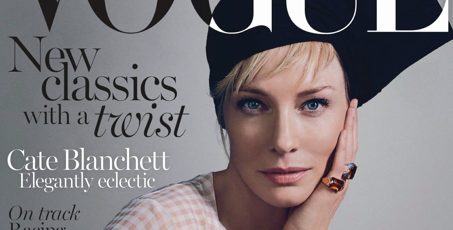 Vogue Australia April 2015 Scans