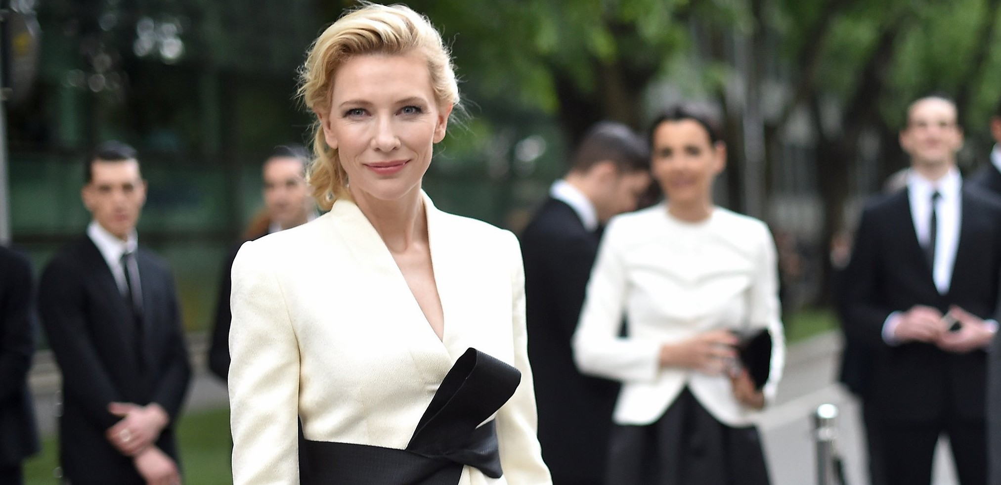 Cate Blanchett attends Giorgio Armani 40th Anniversary – Silos Opening And Cocktail Reception
