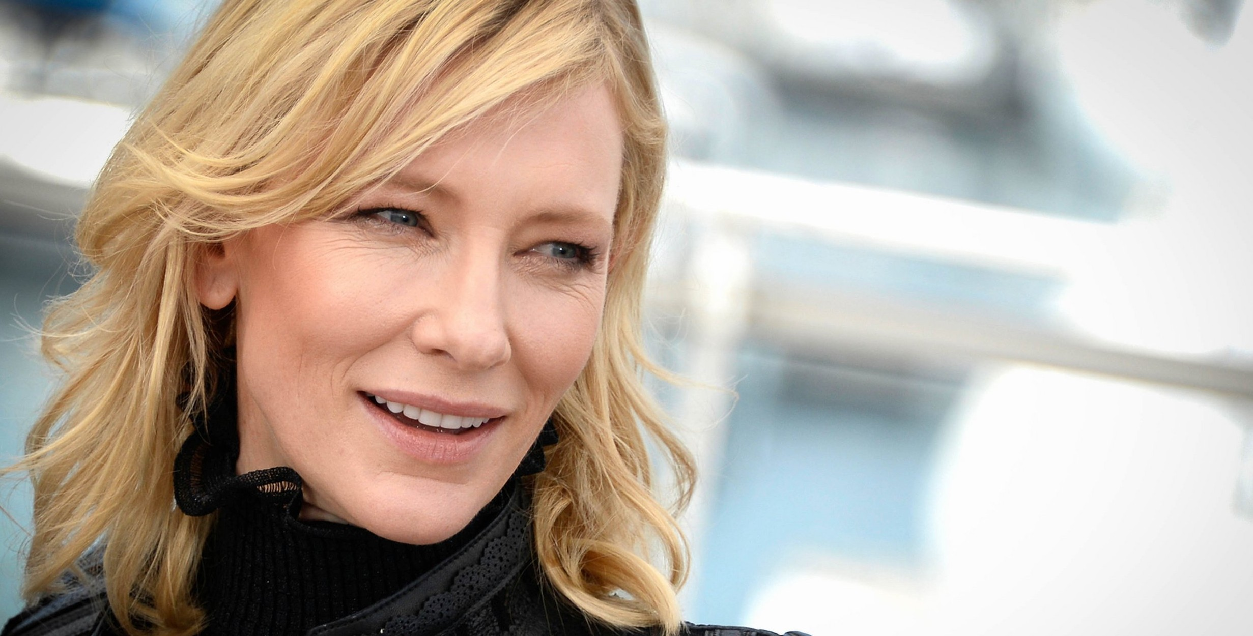 Cate Blanchett at the 68th Cannes Film Festival for the Carol Photocall