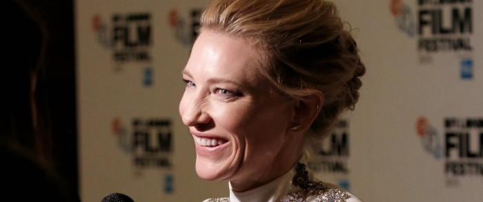 "BFI – London Film Awards – Cate Blanchett honored with ""BFI Fellowship Award"""