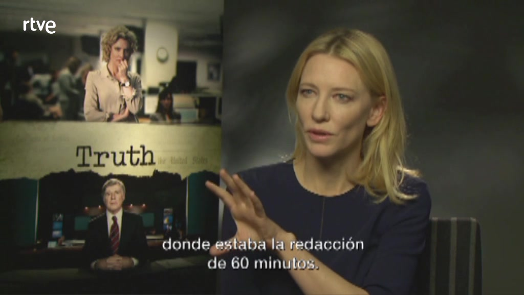 New press junket interview for Truth