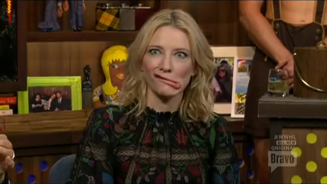 Cate Blanchett and Julie Andrews at Watch What Happens Live!