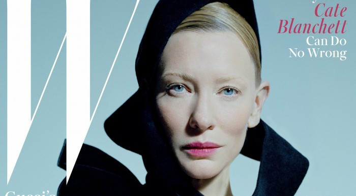 Cate Blanchett Covers W Magazine December 2015