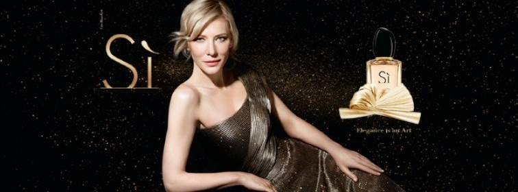 "Cate Blanchett for the new ""Sì Golden Bow"""