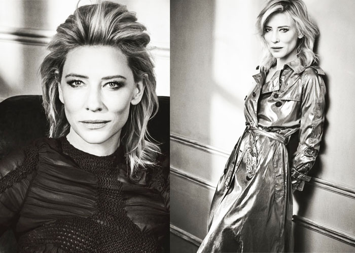 Cate Blanchett on GQ US December 2015