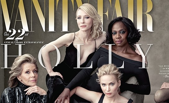 Cate Blanchett is on the Vanity Fair Hollywood Issue