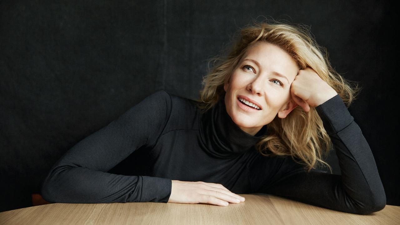Four new interviews with Cate Blanchett