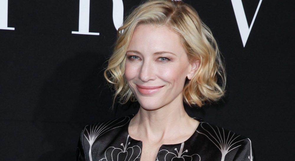 Cate Blanchett attends Giorgio Armani Prive Show at the Paris Fashion Week