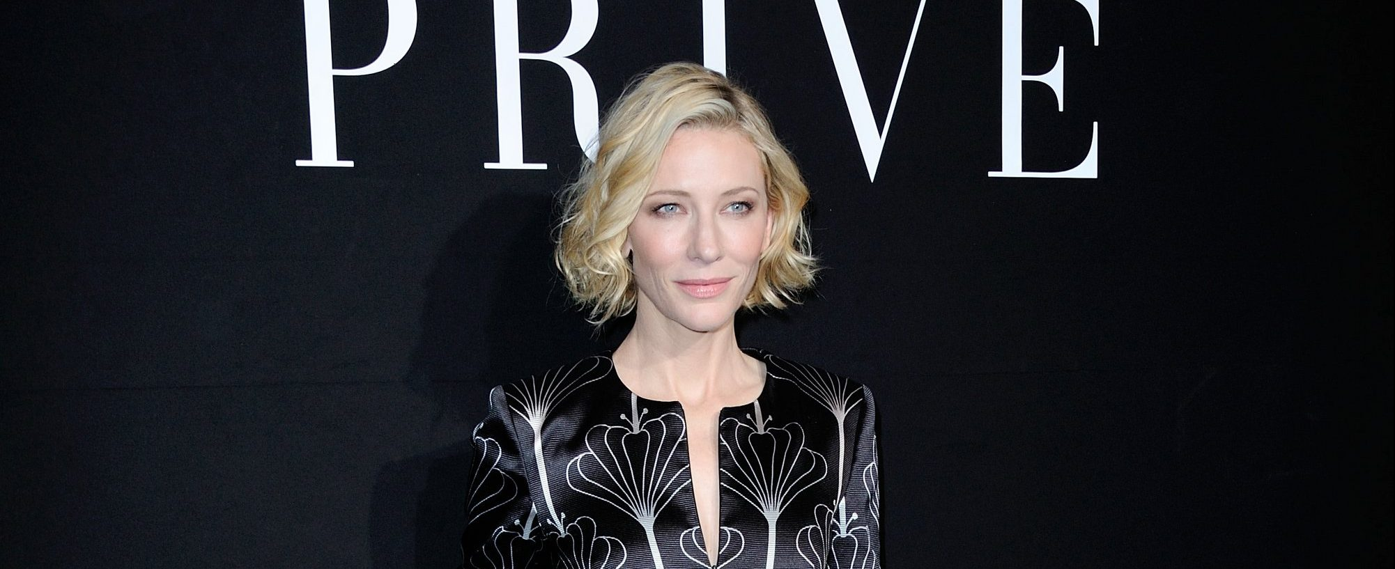 More photos from Cate Blanchett during Giorgio Armani Prive Show for Haute Couture at the Paris Fashion Week