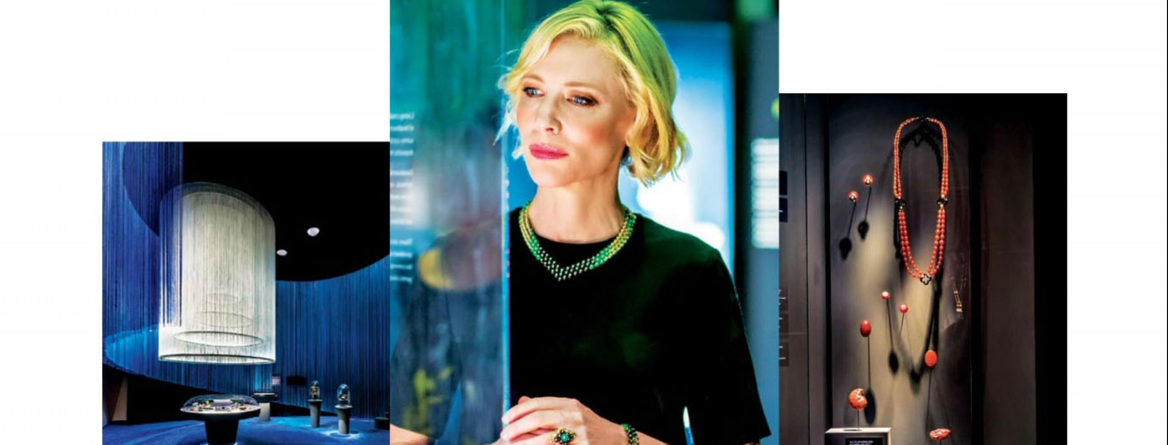 New interview with Cate Blanchett for Harper's Bazaar Singapore