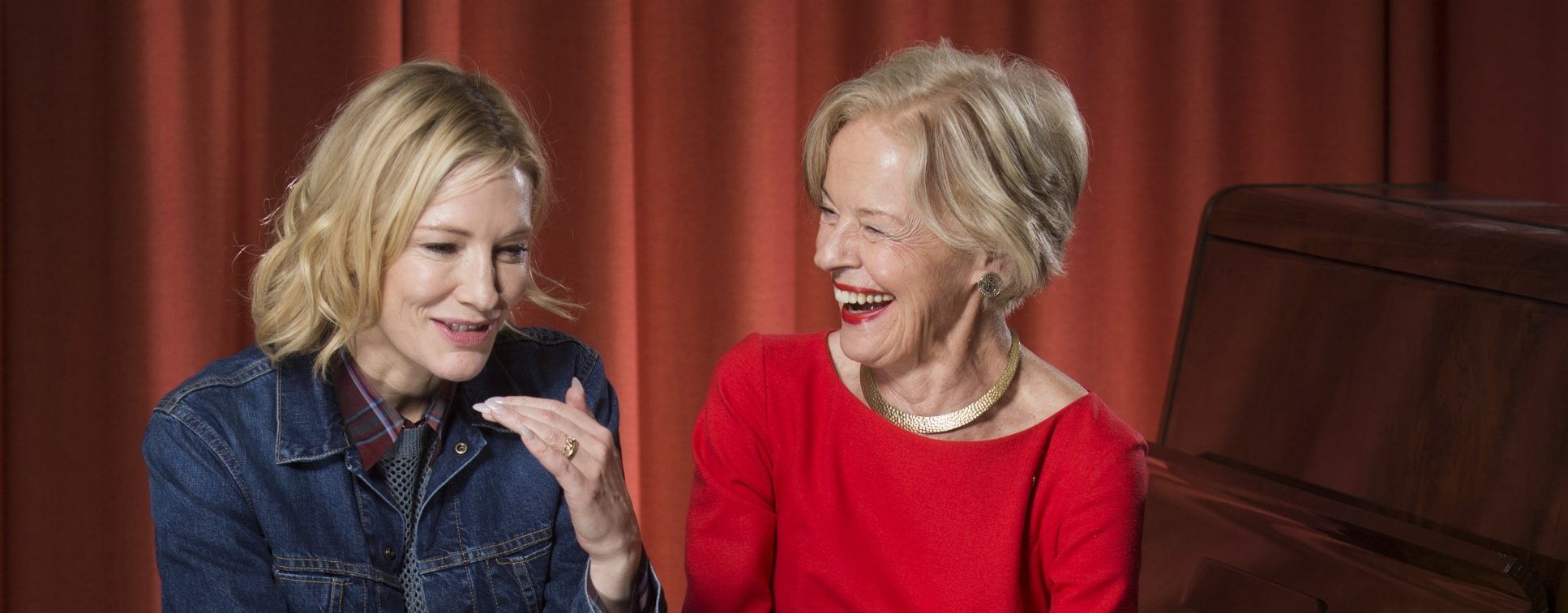 Cate Blanchett, Quentin Bryce, Hossein and the Hope Project