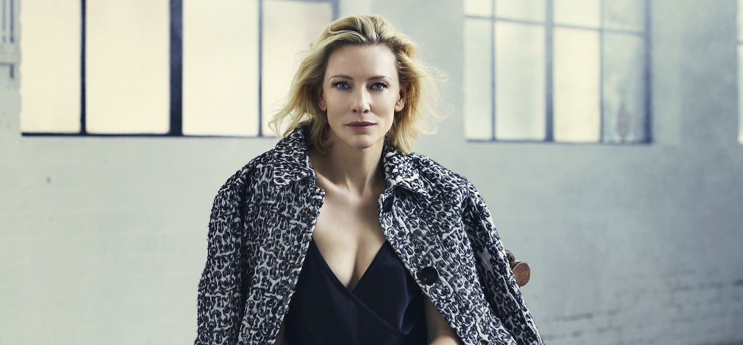 Cate Blanchett on the cover of Rhapsody Magazine