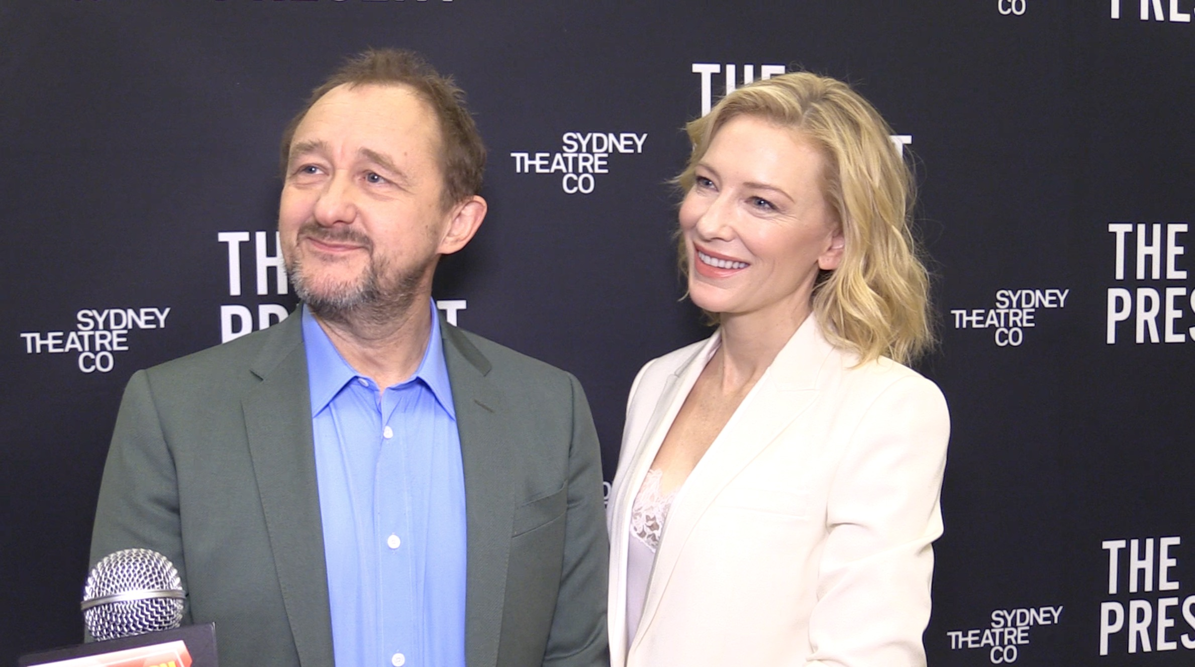 [Video] Cate Blanchett on Broadway- Meet the Company of THE PRESENT!