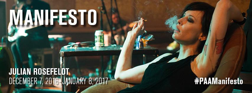 New trailer for installation Manifesto, starring Cate Blanchett