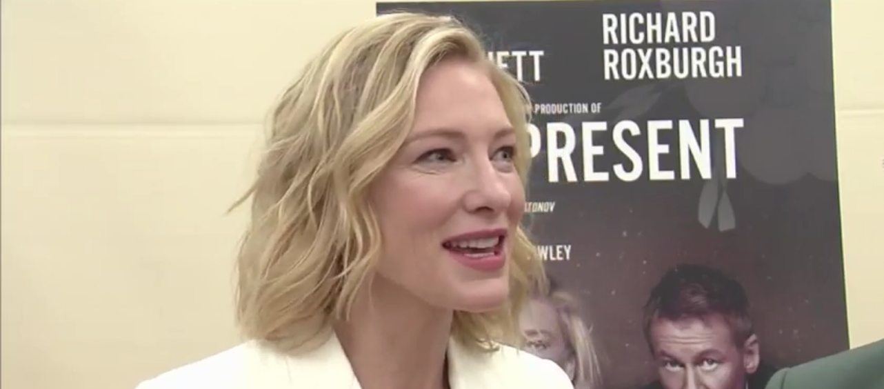 [Video] Cate Blanchett returns to theater, makes Broadway debut in 'The Present'